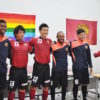 """FC Ryukyu"" adopts a rainbow-colored uniform."