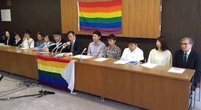 Sapporo City to become first major city to recognize same-sex partnerships.