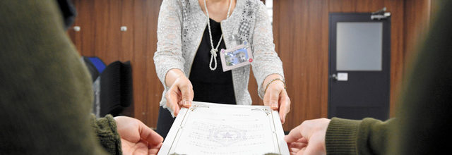 Same-sex Partnership Declaration System is to start in Sapporo City.