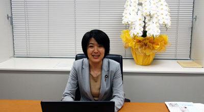 Kanako Otsuji elected as a member of the House of Representatives.